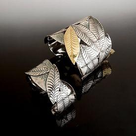 Susan Saul Leaf Cuffs