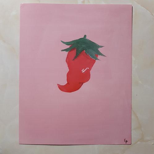 8 x 10 pepper print