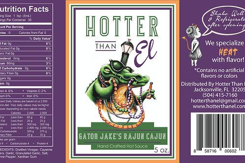 Gator Jake's Rajun Cajun Hot Sauce - Gallon