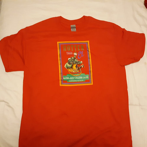 Red Gator Jakes tshirt - medium