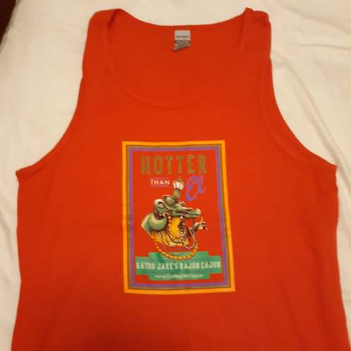 Red Gator Jake's tank top - xlg