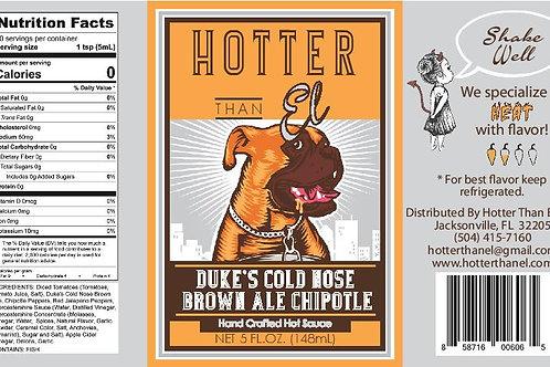 Duke's Cold Nose Brown Ale Chipotle - Gallon