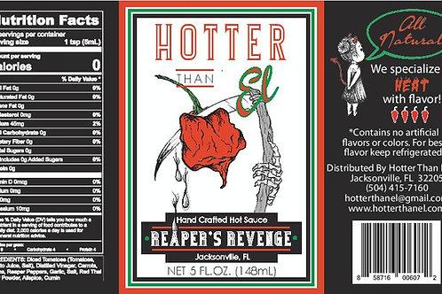 Reaper's Revenge Hot Sauce - Gallon