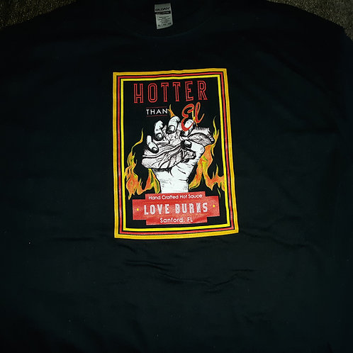 Love Burns t-shirts - xlg