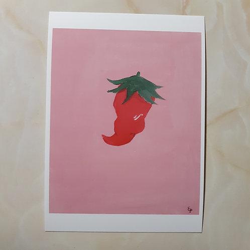 5 x 7 Pepper Print