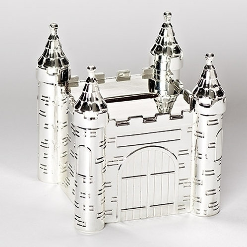 Roman Castle Coin Bank