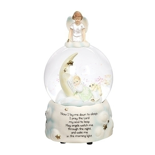 Roman Sweet Dreams Guardian Angel Baby Prayer Glitterdome