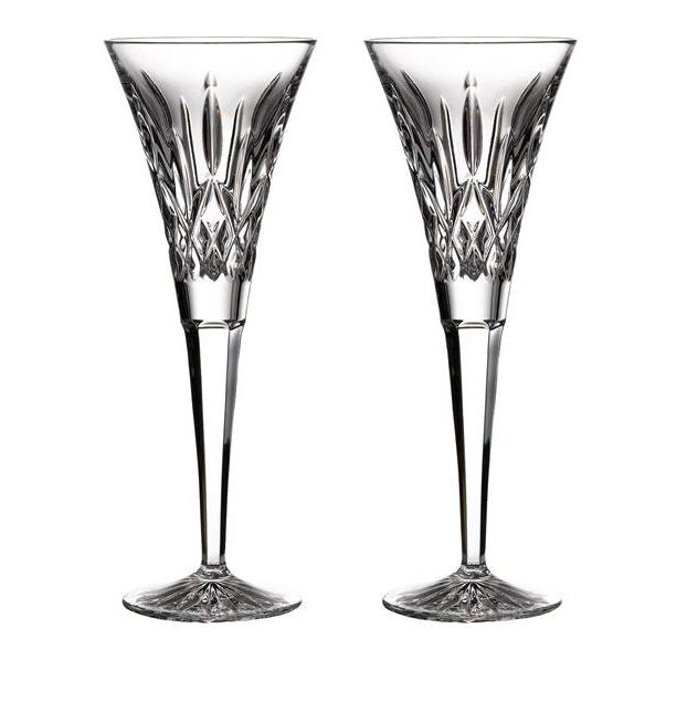 Waterford Lismore Toast Flutes
