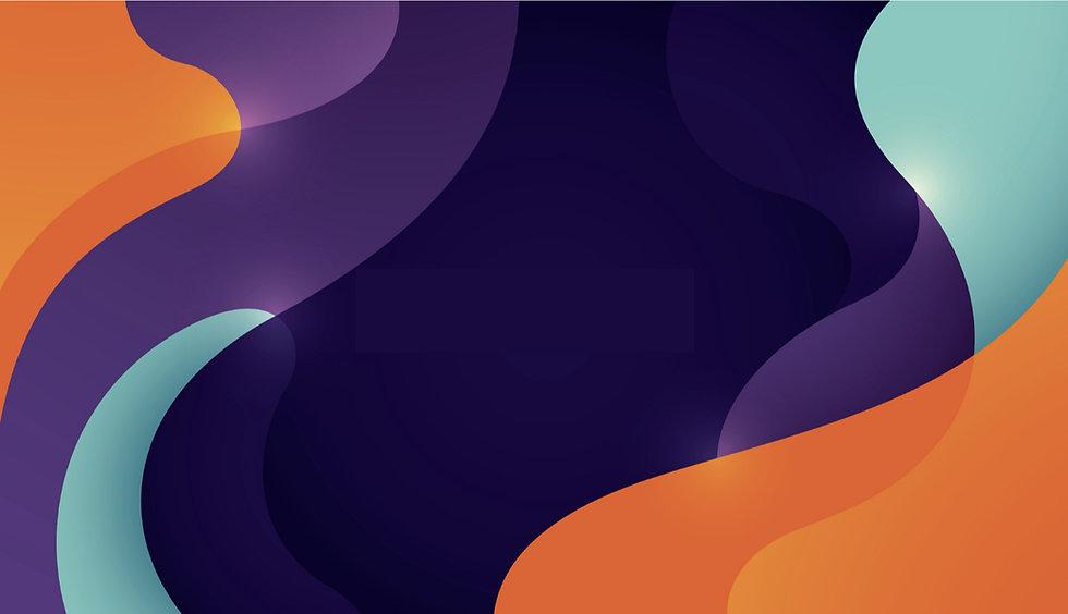 abstract background black purple orange aqua