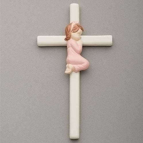Roman Valencia Wall Cross for Girl