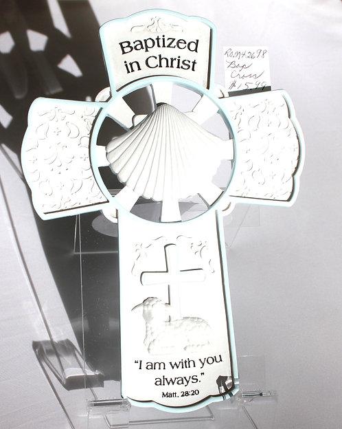 Roman Baptized in Christ Cross (Boy)