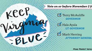 KEEP VIRGINIA BLUE
