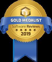 Ribbon for 2019 Software Reviews Gold Medal