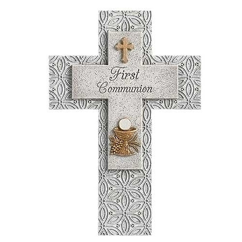 Roman First Communion Wall Cross
