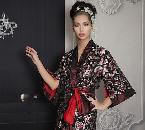 kimono vestaglia