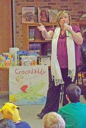 Kim Norman author visit singing