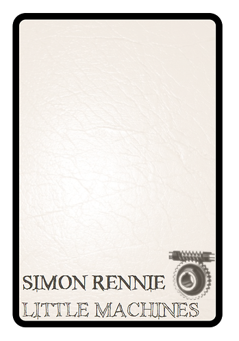 'Little Machines' by Simon Rennie (31 pages)