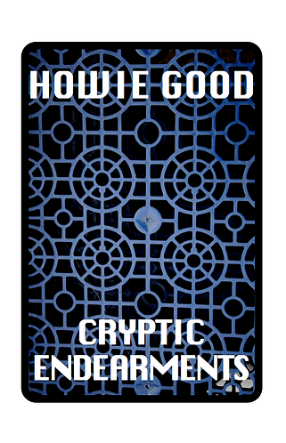 'Cryptic Endearments' by Howie Good (92 pages)