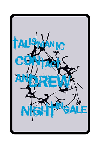 'Talismanic Contact' by Andrew Nightingale (10 pages)