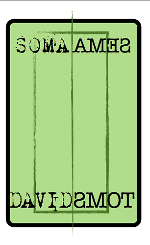 'Soma/Sema' by David Toms (52 pages)