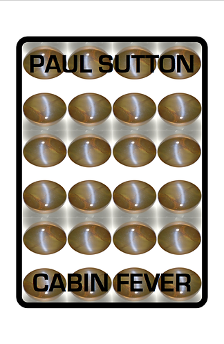 'Cabin Fever' by Paul Sutton (53 pages)