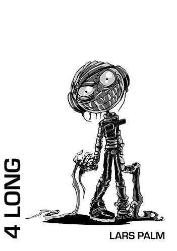 '4 Long' by Lars Palm (54 pages)