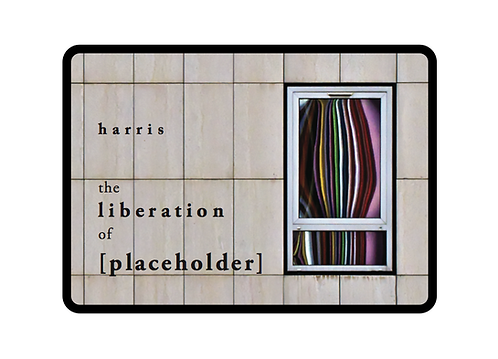 'The Liberation of [Placeholder]' by Dylan Harris (110 pages colour)
