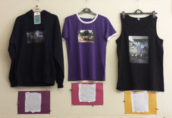 Art project 'Around the World in 80 Washing Lines' - bringing art to launderettes
