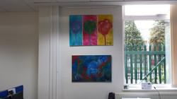 Paintings by Mahlia Amatina