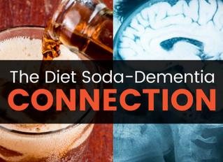 Artificial Sweeteners, Diet Soda, Increase Risk for Stroke & Dementia