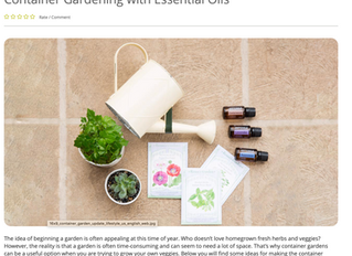 Gardening with Essential Oils