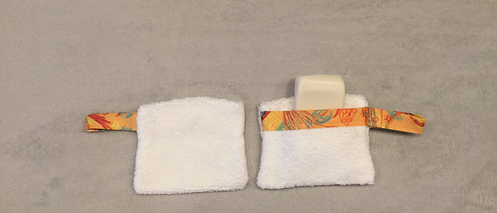 Terry Cloth Soap Holder
