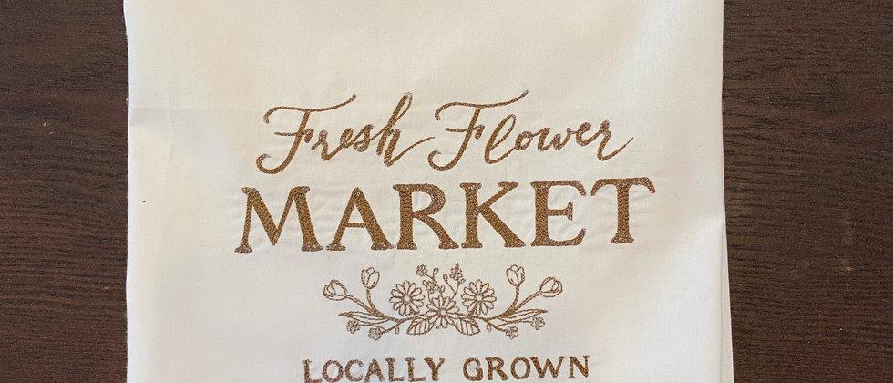 Flower Market Kitchen Towel