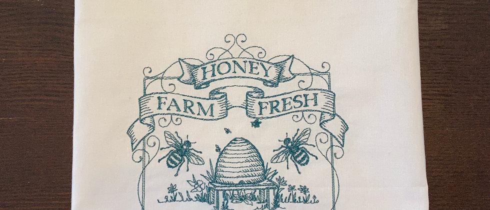 Honey Farm Fresh Kitchen Towel