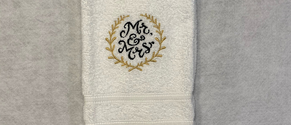 Mr and Mrs Towel