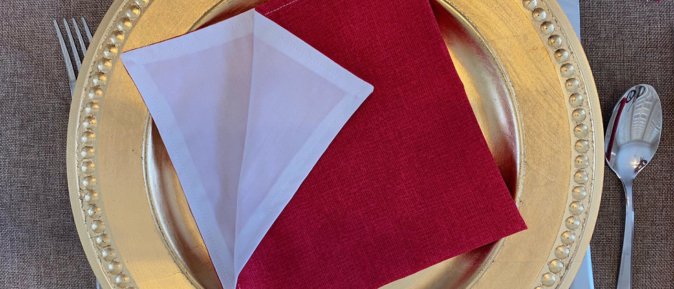 Fabric Lunch Napkins