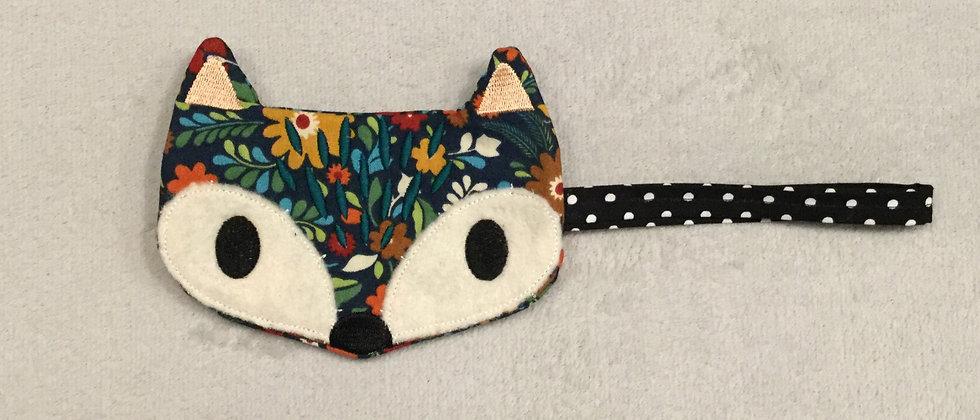 Happy Fox Wristlet