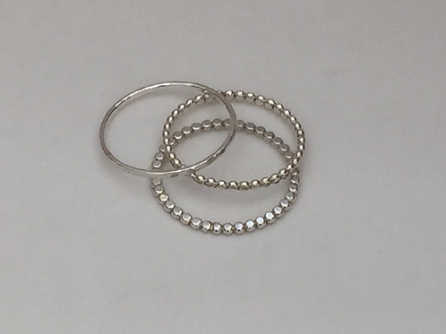 Stacking Rings, set of 3