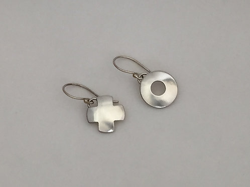 Sterling Silver Xs and Os