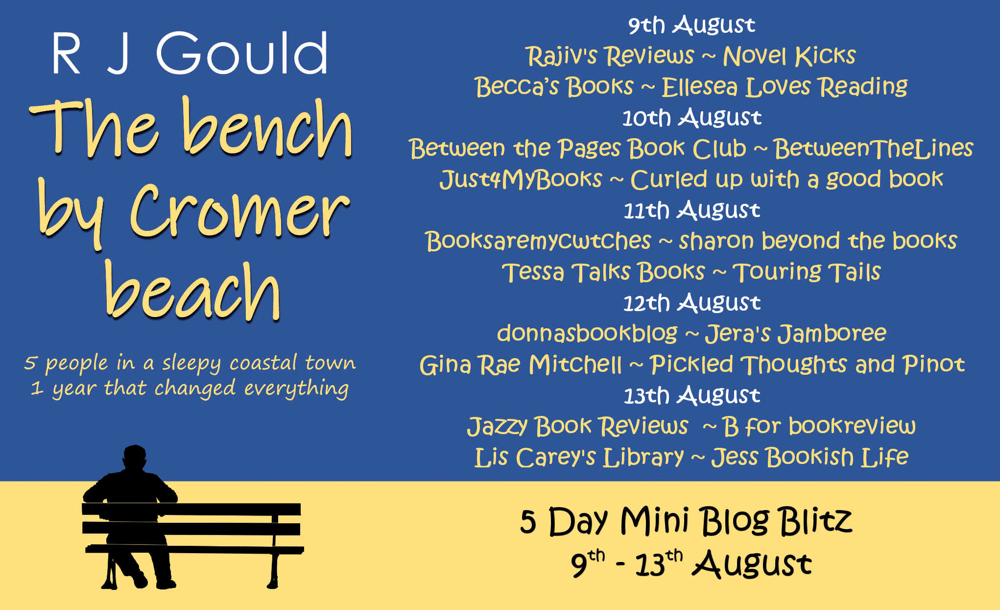 Follow the blog tour