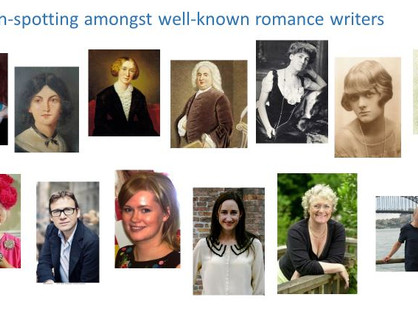 Where are the male authors writing Romance?
