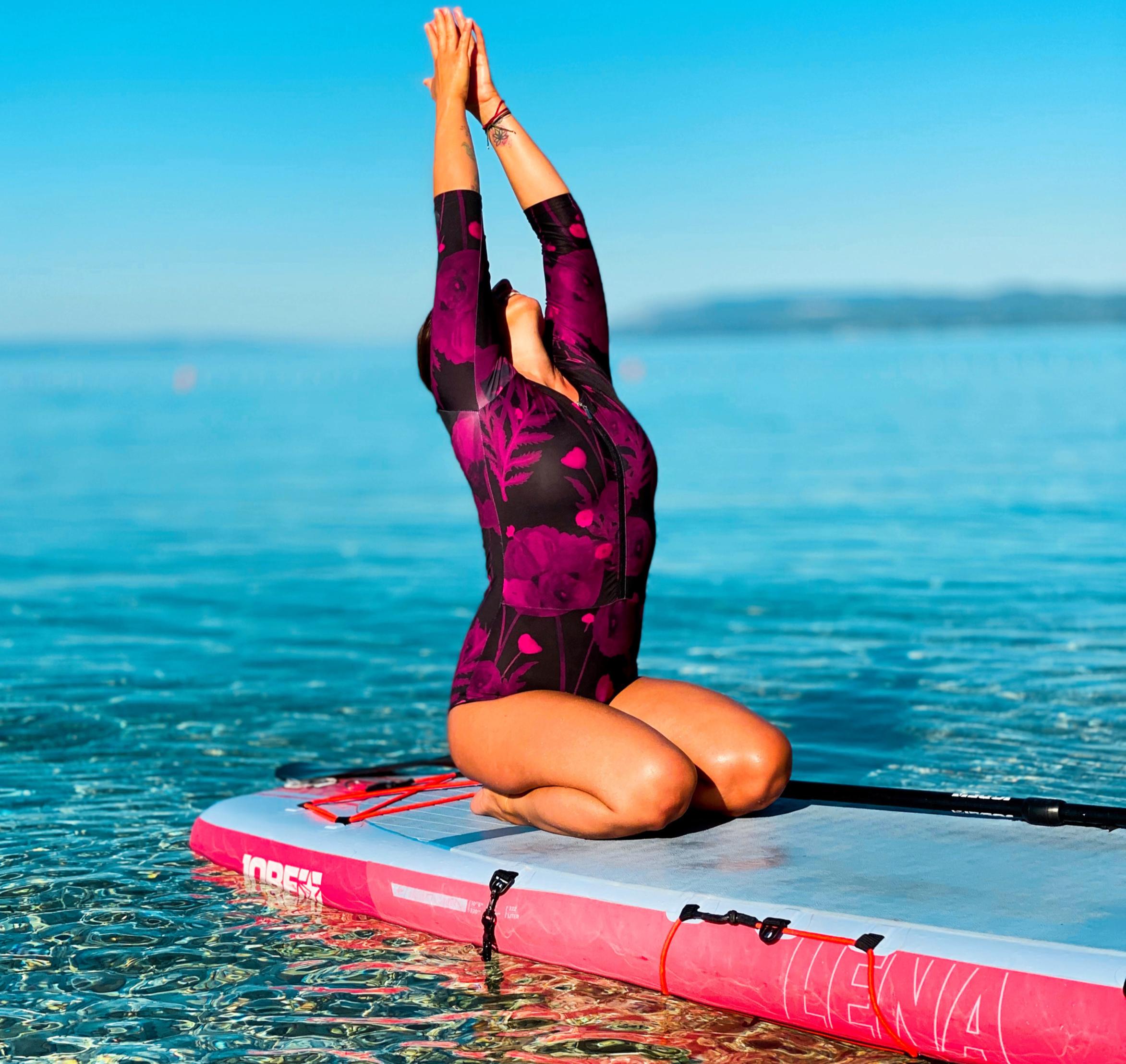 Jóga na paddleboardech
