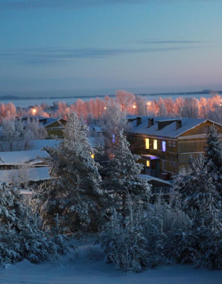 Морозный вечер