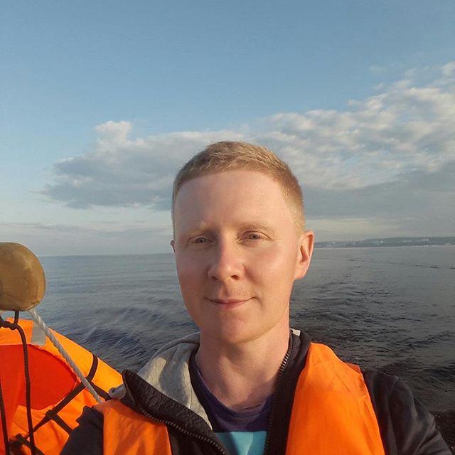 Прогулка по Онеге на хауст-ботах морског