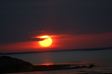 Закат в Белом море