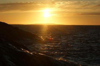 Рассвет в Белом море