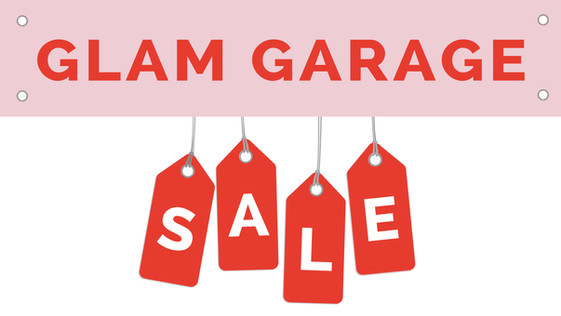 A Glam Garage Sale you don't want to miss