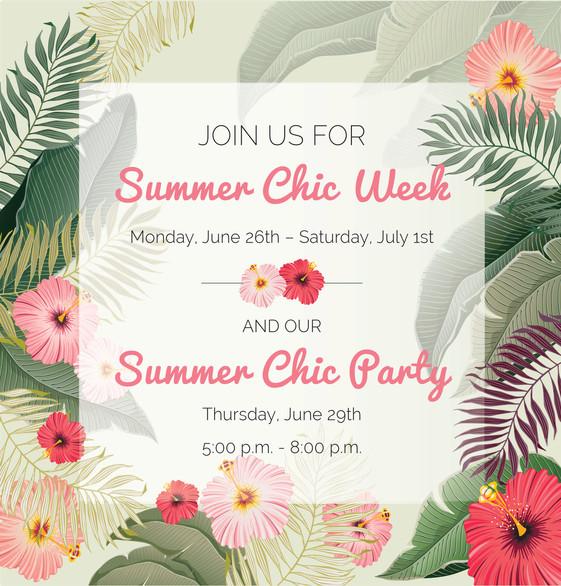 Summer Chic Week