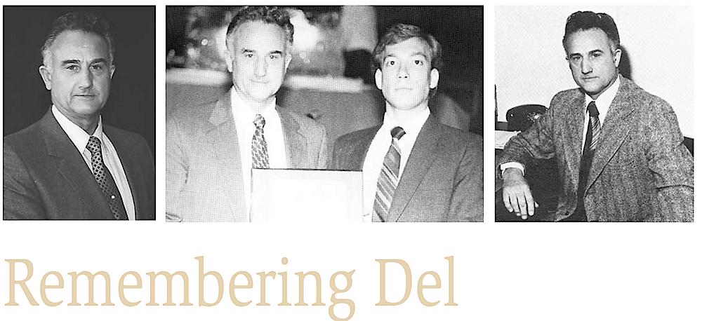 Dr Del Merrill Remembrance~Husson College
