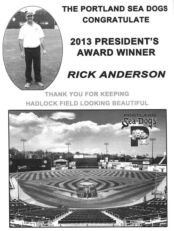 2013 Presidents award Rick andereson 2.j